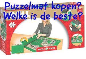 Puzzelmat kopen - Welke is de beste - Beste oprolbare puzzelmat - Puzzel 1000 Stukjes - www.Puzzel1000stukjes.nl